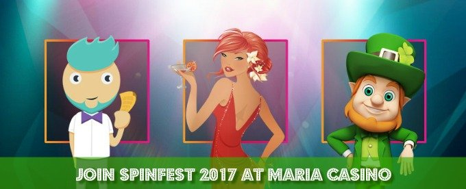 Join Maria Casino Spinfest and get cash spins