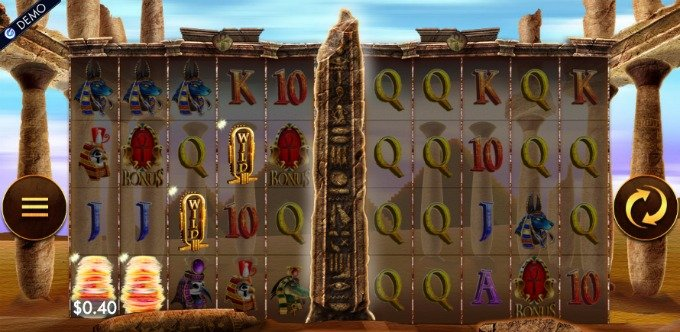 Temple of Luxor slot payouts