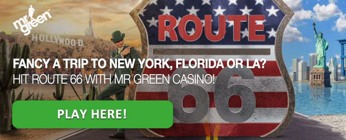 Click to play with Mr Green casino