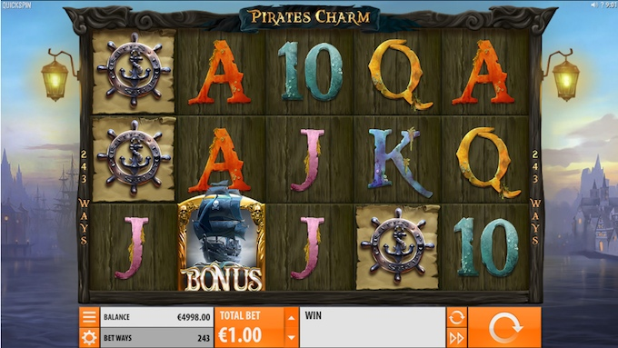 Pirate's Charm slot base game