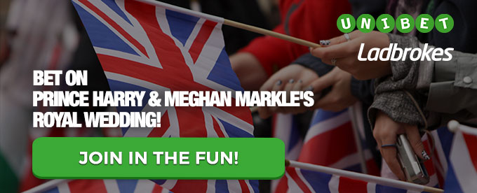 Bet on the Royal Wedding here!
