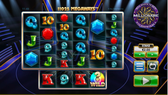 Who Want to be a millionaire slot