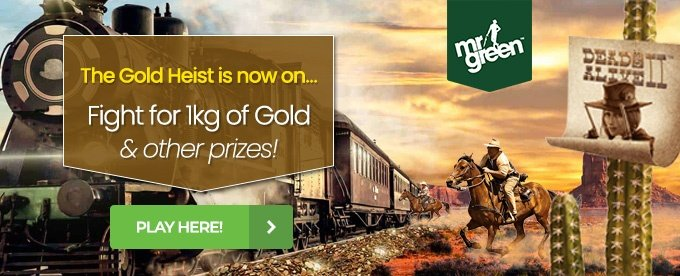 Click here to play with Mr Green casino