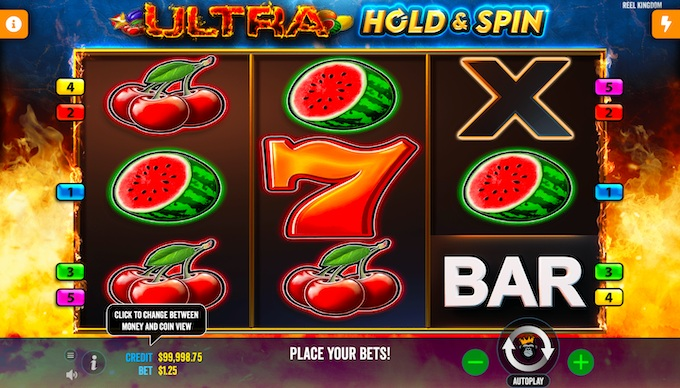 Ultra Hold & Spin slot