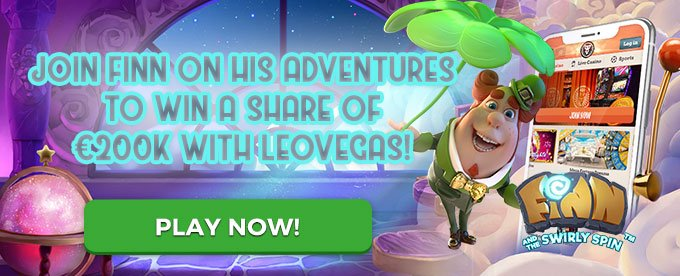 Play Finn & the Swirly Spin with LeoVegas