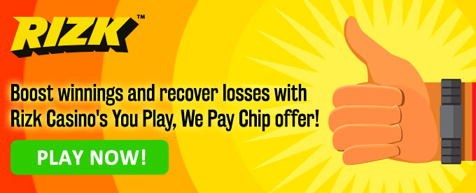 Rizk You Play We Pay Chip rewards