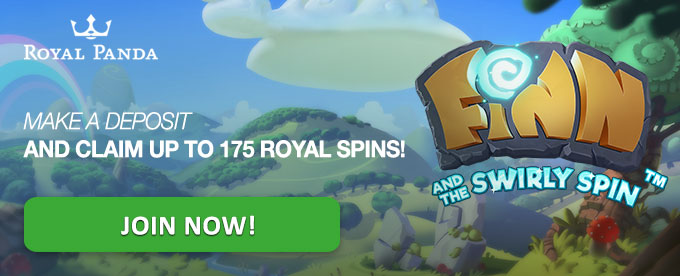 Get free spins on Finn and the Swirly Spin