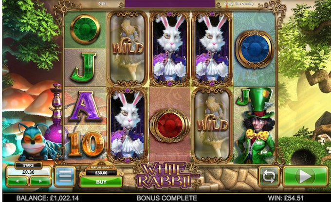 White Rabbit slot base game