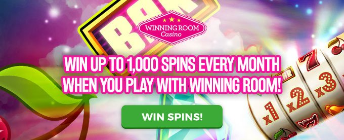 Win free spins with Winning Room