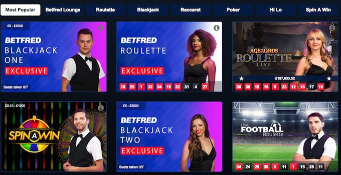best online casino uk for live casino