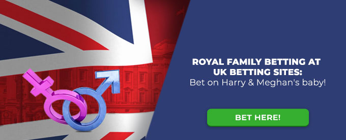 Royal family betting - Harry and Meghan baby
