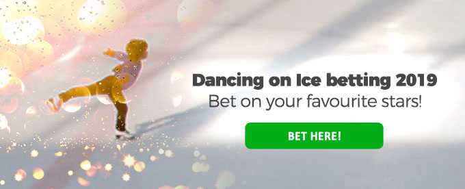 Click here to bet on Dancing on Ice 2019