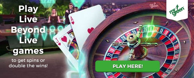 Click here to play at Mr Green casino!