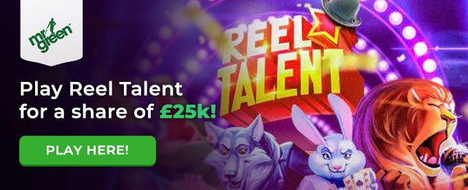Click here to play Reel Talent slot at Mr Green casino