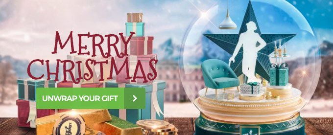 Mr Green Christmas promotion