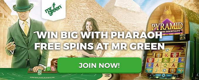 Mr Green Casino - win up to 400 free spins