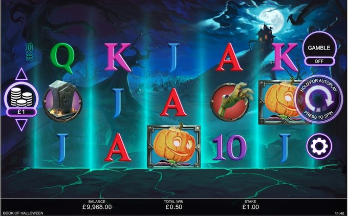 Book of Halloween Slot review