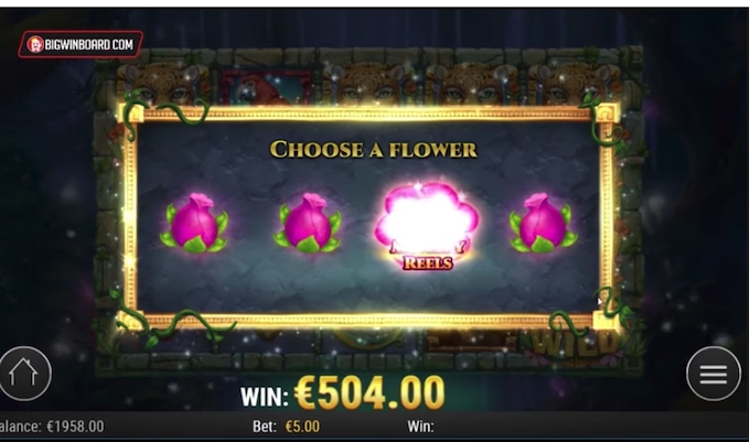 Rainforest Magic slot mystery feature