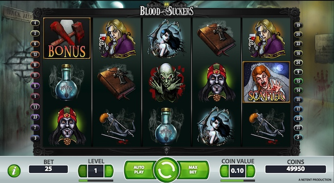 Bloodsuckers slot - one of the best slots to play