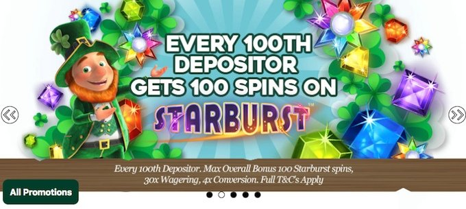 Pots of Luck promotions