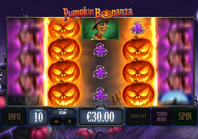 Pumpkin Bonanza slot by Playtech
