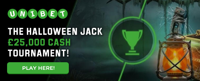 Click here to play Halloween Jack at Unibet casino!