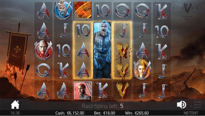 Vikings slot by NetEnt
