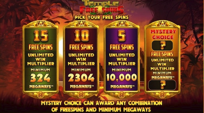 slots with free spins - Temple of Treasures