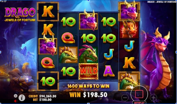 Drago Jewels of Fortune slot review