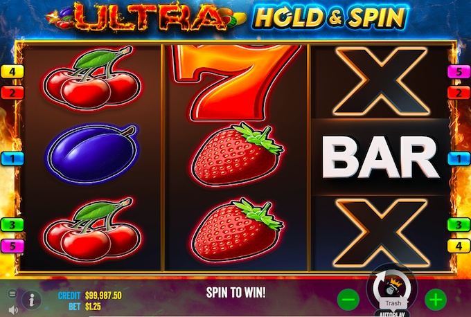 Ultra Hold & Spin Slot Review