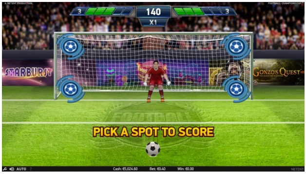 Play Football: Champions Cup slot on LeoVegas Casino