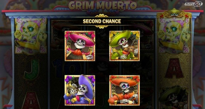 Play Grim Muerto slot at Mr Green casino