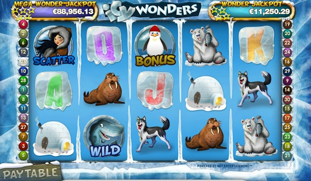 Play Icy Wonders at Casumo casino