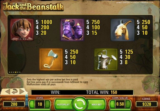 Play Jack and the Beanstalk on InstaCasino