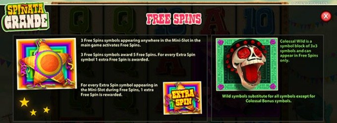 Play Spinata Grande at Betsafe Casino