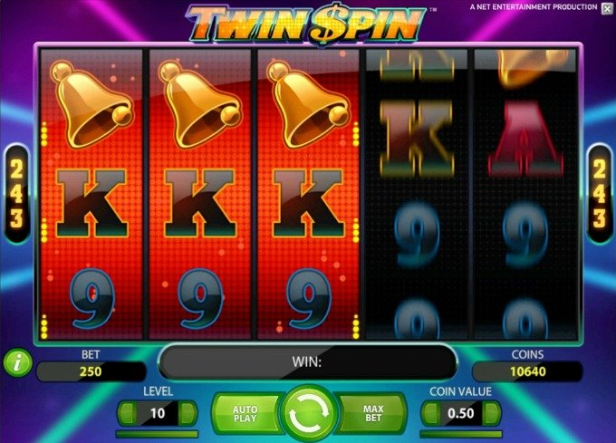Play Twin Spin slot on Maria casino