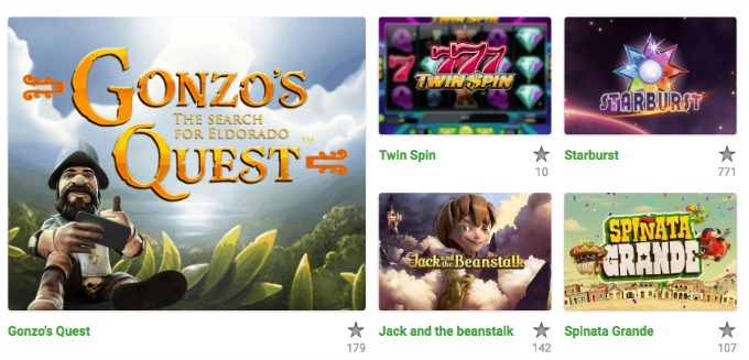 Play the best NetEnt games at Unibet casino