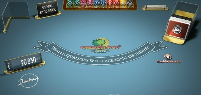 Play Caribbean Stud Poker at LeoVegas casino