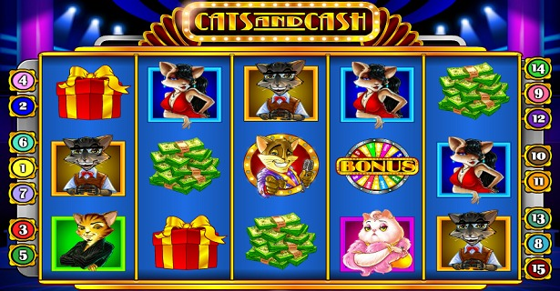 Play Cats and Cash slot on Dunder Casino