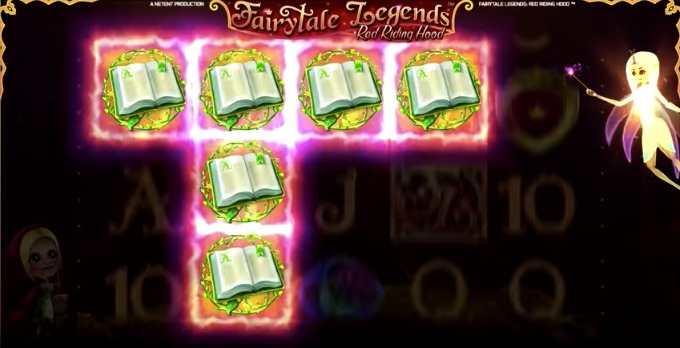Play FairyTale Legends: Red Riding Hood slot at ComeOn casino
