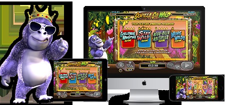 Play Gorilla Go Wild slot on Betsafe casino