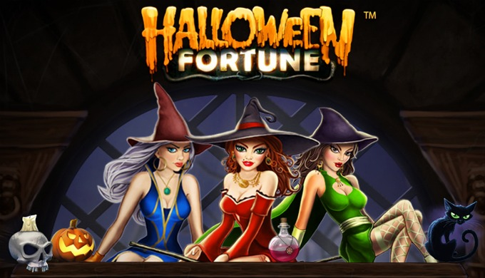 Play Halloween Fortune slot at ComeOn casino