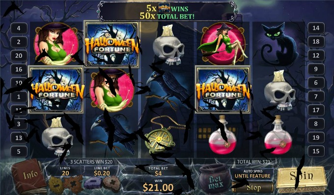 Play Halloween Fortune slot at Betsafe casino
