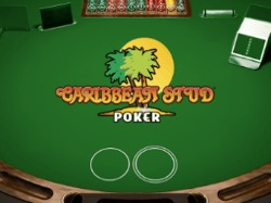 Play Caribbean Stud Poker at Maria Casino