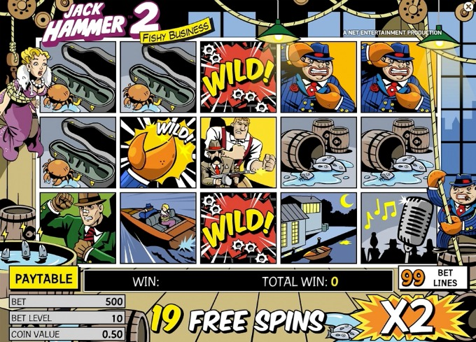 Play Jack Hammer 2 slot at InstaCasino