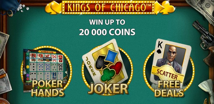 Play Kings of Chicago at Dunder Casino