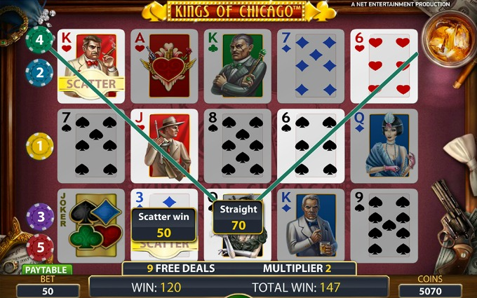 Play Kings of Chicago at LeoVegas casino