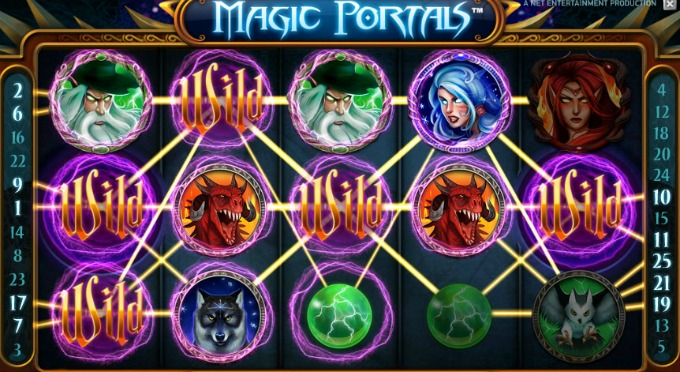 Play Magic Portals at Casumo Casino