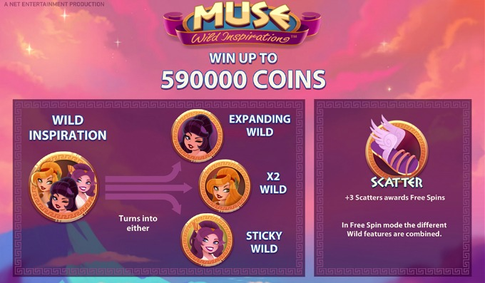 Play Muse slot at Betsafe casino