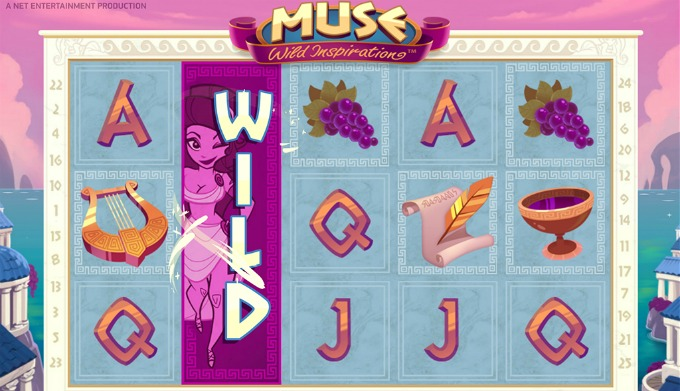 Play Muse slot at ComeOn casino